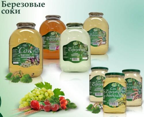 Sok z brzowy - import z Białorusi